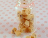 1:12 scale.....Jar of Fudge...dolls house miniature food by Small Portions