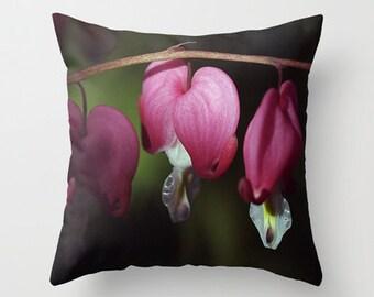Be Still My Heart Decorative Throw Pillow, Art Throw Pillow, Flower Pillow, Floral Pillow, Outdoor Pillows, Throw Pillow, Flower Photography
