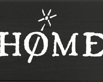 NWM Home Wand vinyl sticker
