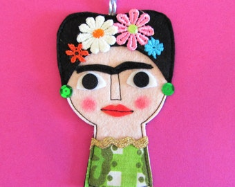 Hanging Decoration Frida Kahlo