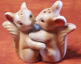 Hugging Squirrels Salt Pepper Shakers