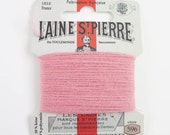 French Wool Embroidery Floss Laine St. Pierre for Hand Embroidery, Darning | Wool Embroidery Thread in DUSKY PINK (#596-A1)