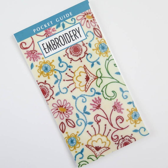 Embroidery design pocket guide how to embroider basic