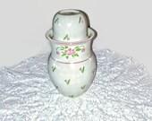 Vintage Bedside Table Carafe, Vintage Carafe, Carafe With Tumbler, Ceramic Carafe