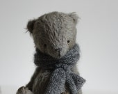 Made To Order Christmas Stuffed Pocket Gray Teddy Bear Akim Soft Toy Animal
