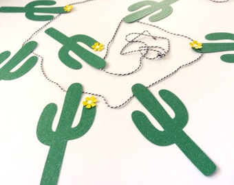 Glitter cactus banner, cowboy, southwest, cowgirl, wildwest, cactus party, party supplies, cactus birthday, arizona, texas, new mexico, cal