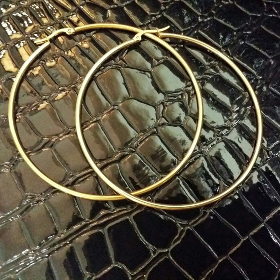Gold-Filled hoops