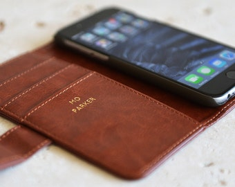 Luxury iPhone Case with Gold Lettering