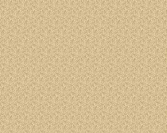 Pheasant & Traceries Simple Dot Pattern Cream Fabric by Andover