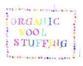 organic wool bolus stuffing - existing order upgrade