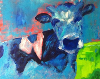 Art by Bertie -  I love DUTCH cows