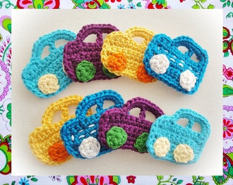 Crochet Cars Pattern- Wonderfulhands