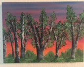 DAY DREAM original one of a kind landscape oil painting art