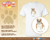 Dog T-Shirt - Bulldog