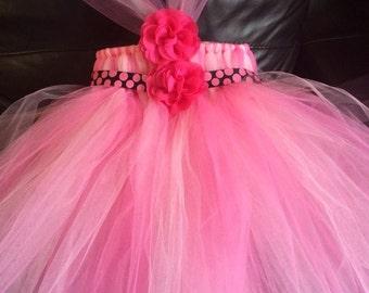 Tutu Dress,  Princess Tutu Dress, Flower Girl Dress , Flower Girl Tutu, Wedding Tutu- MADE TO ORDER