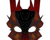 Custom Dragon Mask