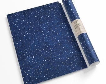 Astronomy Gift Wrap Sheets. Gift wrapping paper. Starry night wrapping paper. Zodiac gift wrap.