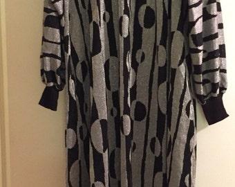 1970's David Brown Night Gown Robe