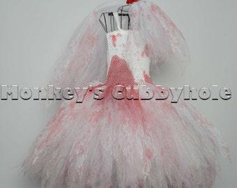 Zombie Bride Tutu Costume