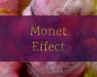 Monet Effect - Spinning Batt Tutorial - Handspun Yarn Tutorial