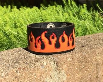 Flame Cuff 90s