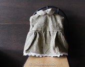 Blythe Doll Outfit /  1/6 doll size /  sleeveless blouse/warbler