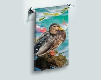 Shower Curtain Mexican Bird Of Paradise Flower