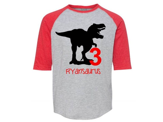 Dinosaur Birthday Shirt Dinosaur Shirt Dinosaur Party