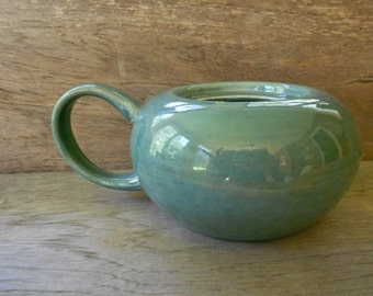Russel Wright seafoam American Modern mid century modern dinnerware sugar bowl Steubenville Pottery