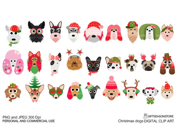 free christmas clip art with dogs - photo #31