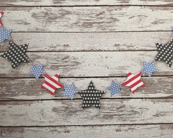 Star banner, Independence Day, Patriotic banner, Fourth of July banner, Independence Day banner, flag day banner, patriotic banner