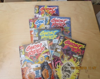 GHOST RIDER 30, 32, 33, 35, 36, 37 NEVER Read In Plastic Mint Box 16