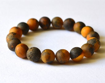 Amber Bracelet / Amber Jewelry / Amber Gift / Dark Amber / Baltic Amber