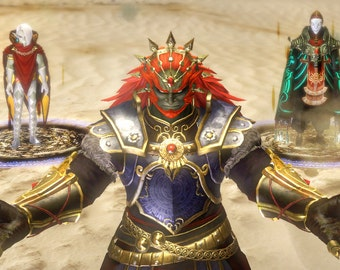 set of red gems for Ganondorf
