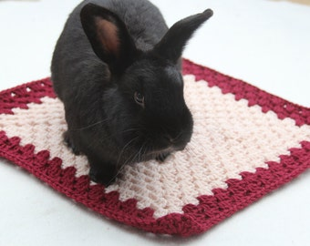 Beetroot Comforter Blanket for Rabbits