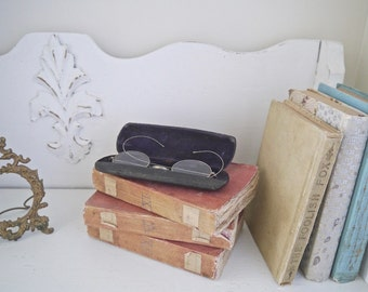 Vintage Wire Rim Spectacles with Case