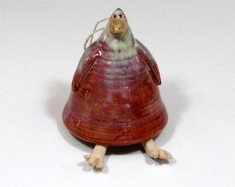 Cardinal Bird Bell