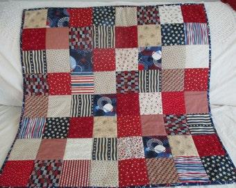 Americana Baby Quilt