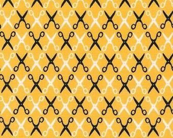 Sewing Studio 2 by Cynthia Frenette Scissors 15852-5 Yellow for Robert Kaufman