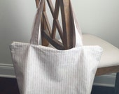 Linen Tote for Susie