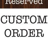 Custom order for tacamp2000- Custom Hand Lettered Stocking Name tags