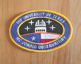 The University of Texas - McDonald Obsevatory Patch