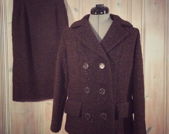 1950's Handmade Tweed Suit