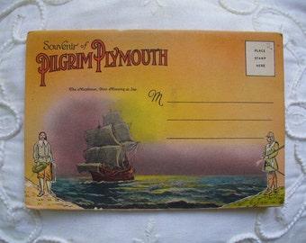 Pilgrim Plantation Postcard Folder