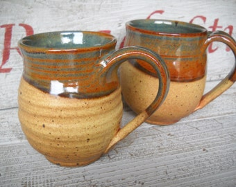 Handmade Mug, Pottery, Coffee Mug