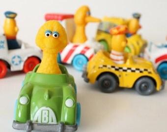 1983 Sesame Street Playskool Die Cast Set