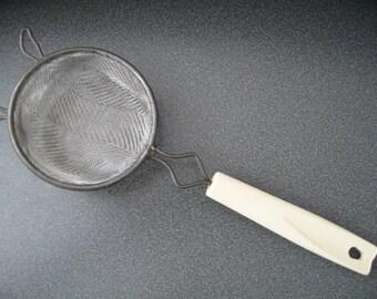 Vintage Kitchen Hand Strainer