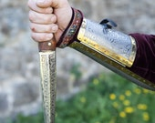 "Steel Dagger; Medieval Dagger ""King of the East""; Decorative Weapon"