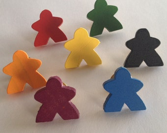 Large Meeple Pins