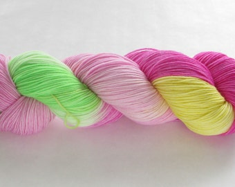 Hand Dyed Sock Yarn - Proper Sock - Annie's Lily